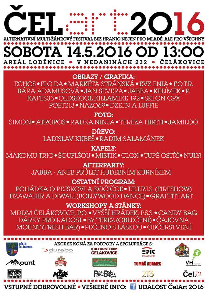 ČelArt 2016 - alternativní multižánrový festival