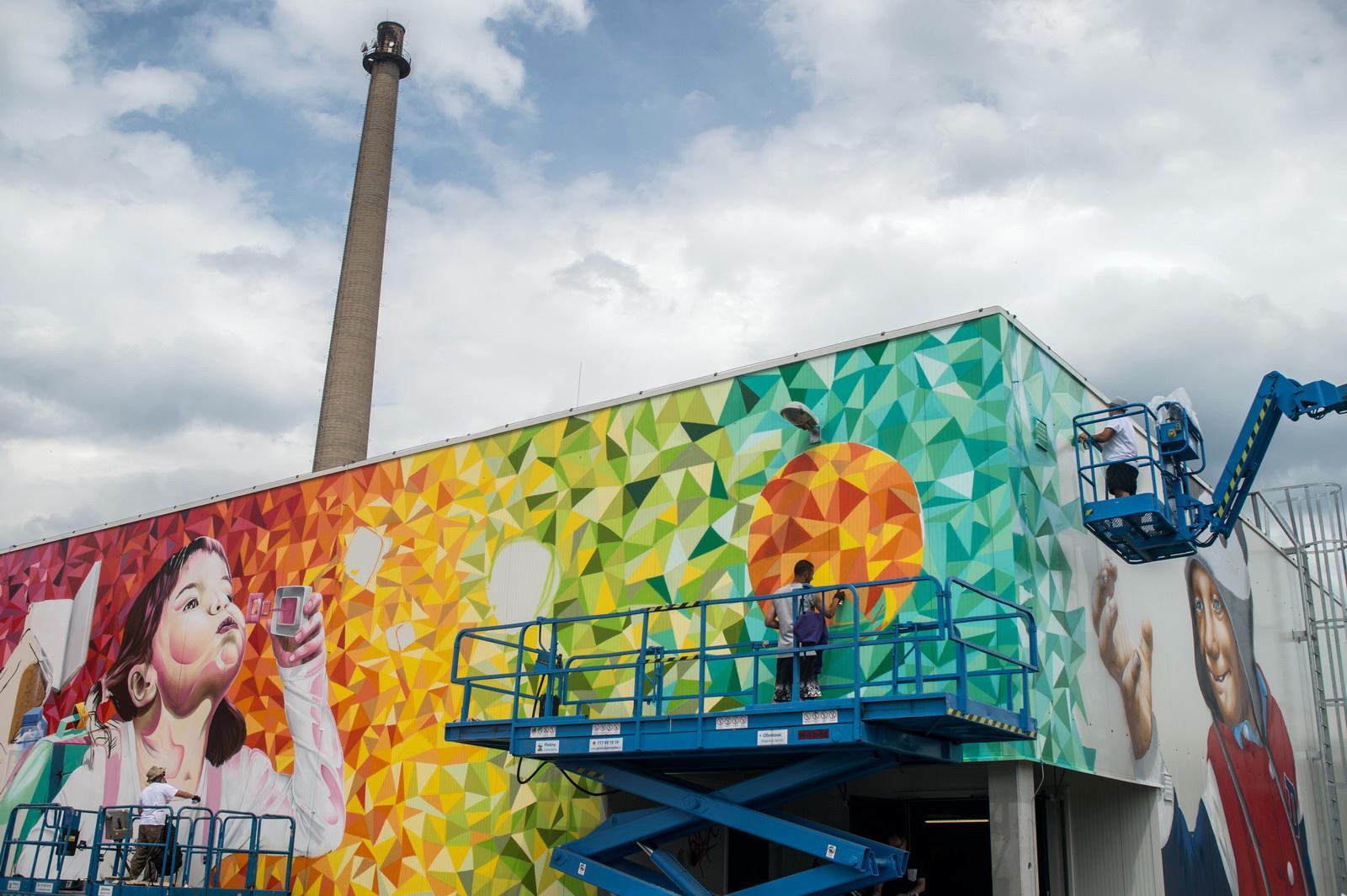Streetart Show 2016 - Šternberk