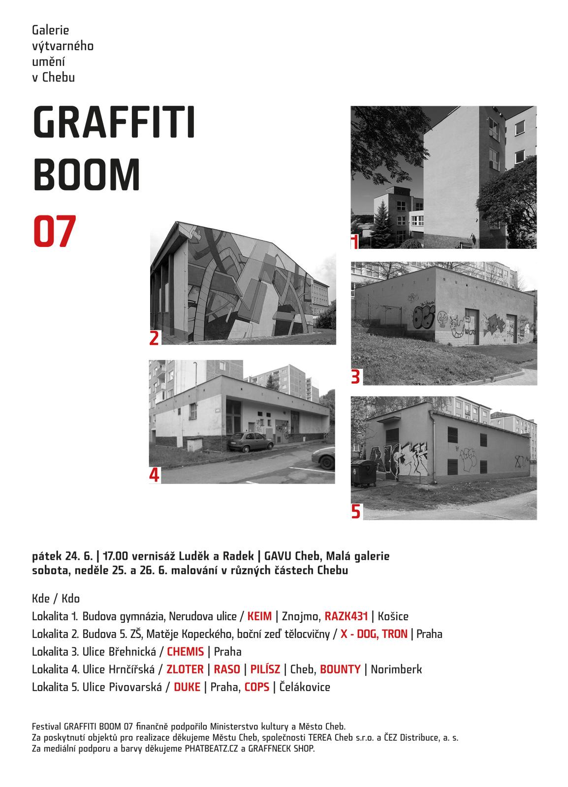 Graffiti Boom 07 - Cheb