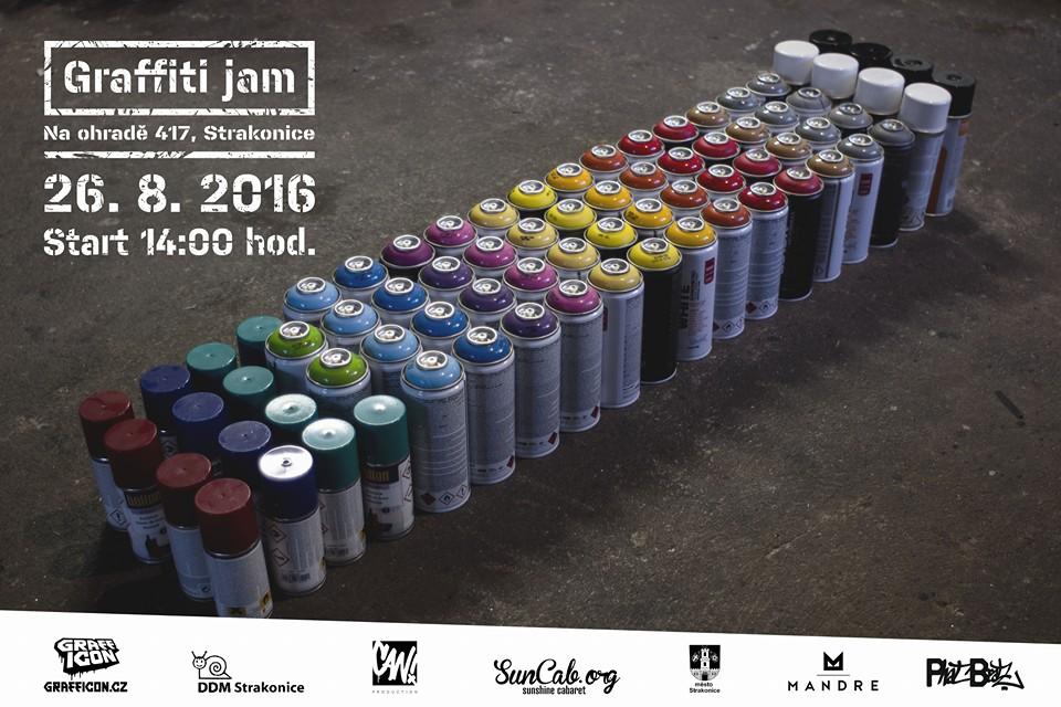 GRAFFITI JAM 2016 - Strakonice