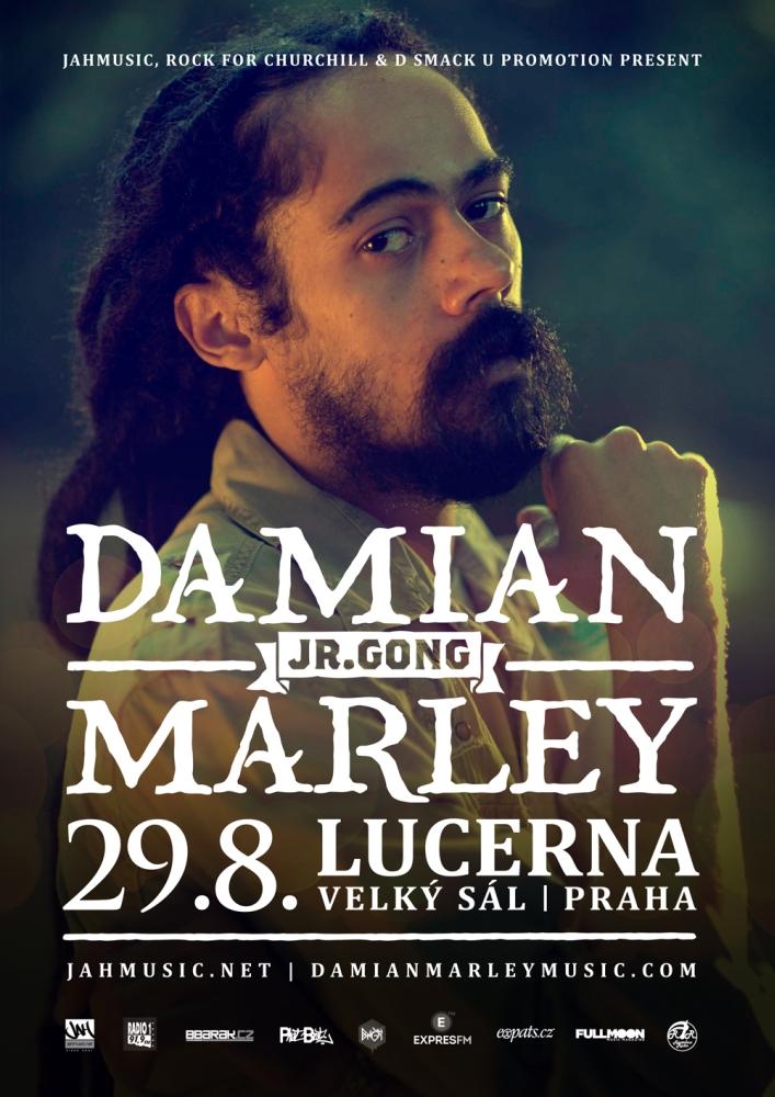 DAMIAN JR.GONG MARLEY 2016 Prague
