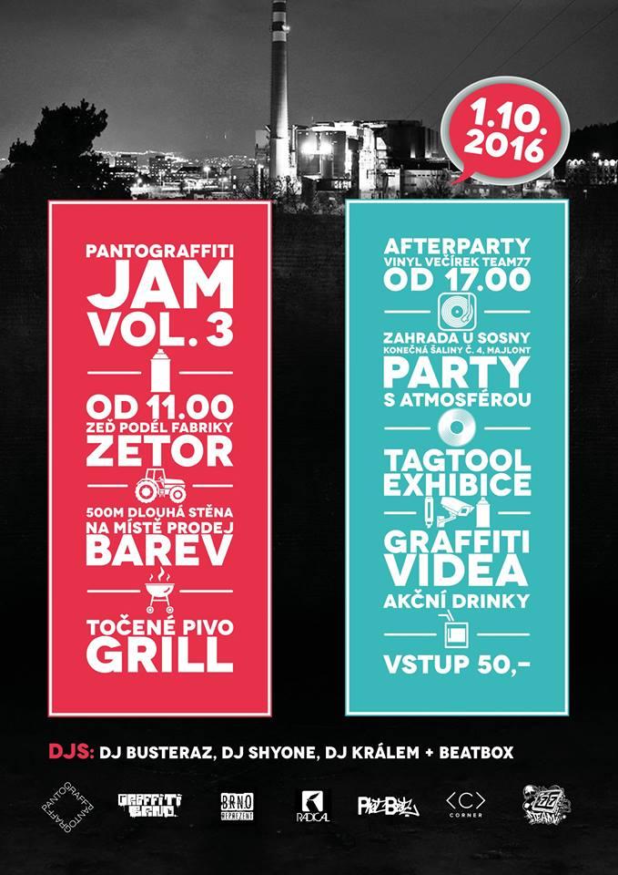 PATOGRAFFITI JAM 2016 - Zetor, Brno