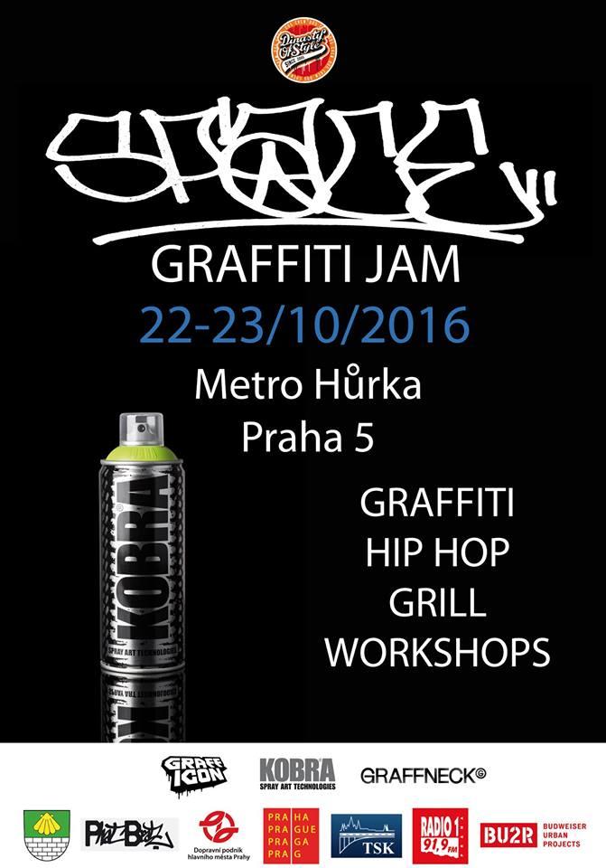 SPACE GRAFFITI JAM - Hůrka, Praha