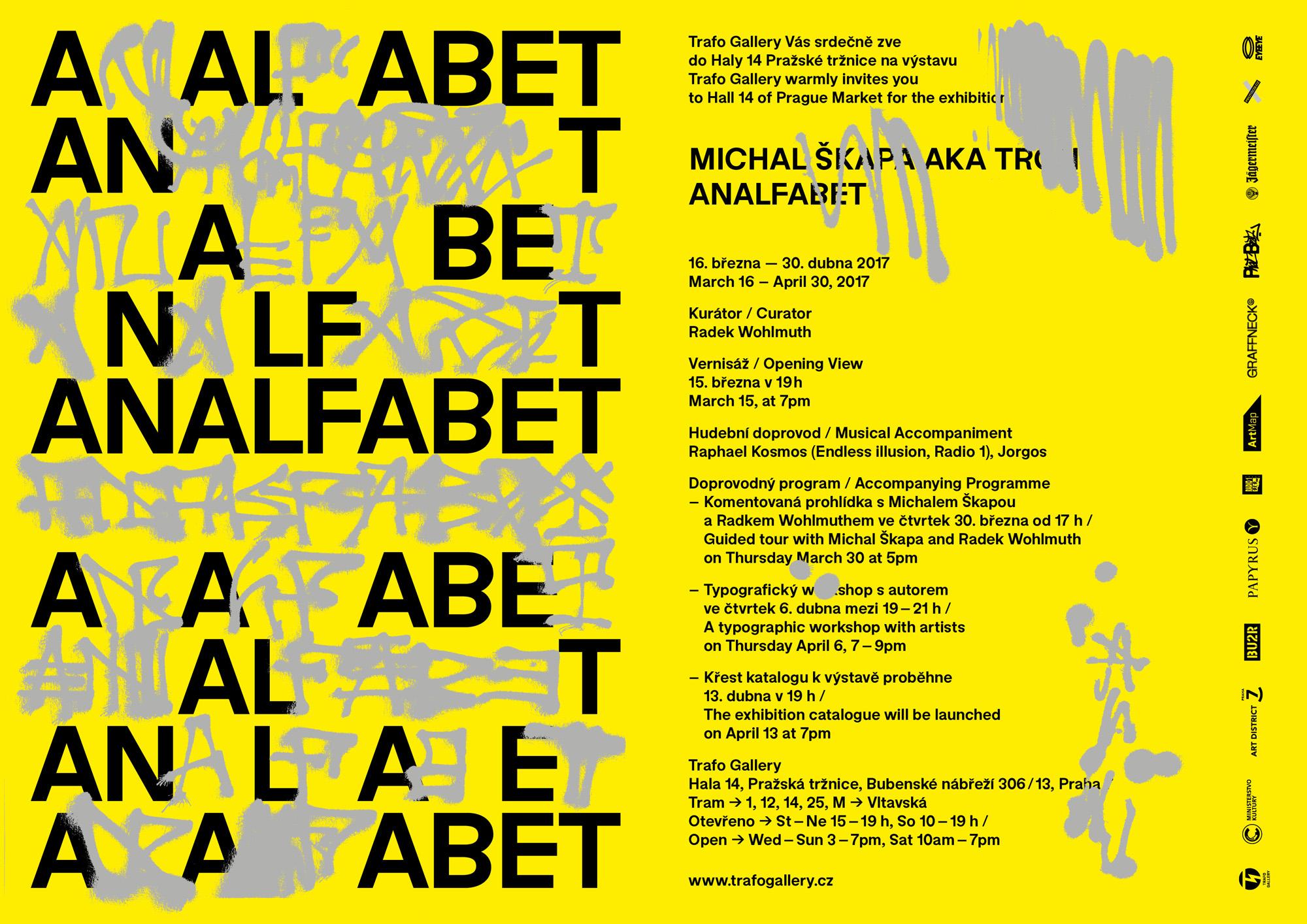 Michal Škapa aka TRON - ANALFABET