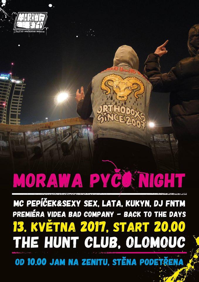MORAWA PYČO JAM 2017 - Zenit, Olomouc