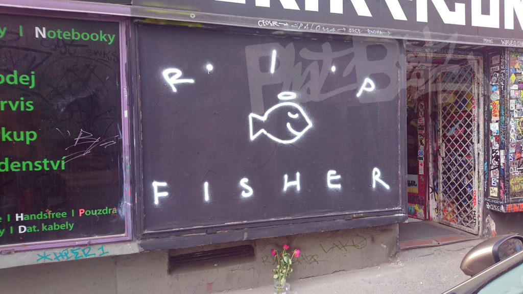 RIP FISHER (21. 5. 2017)