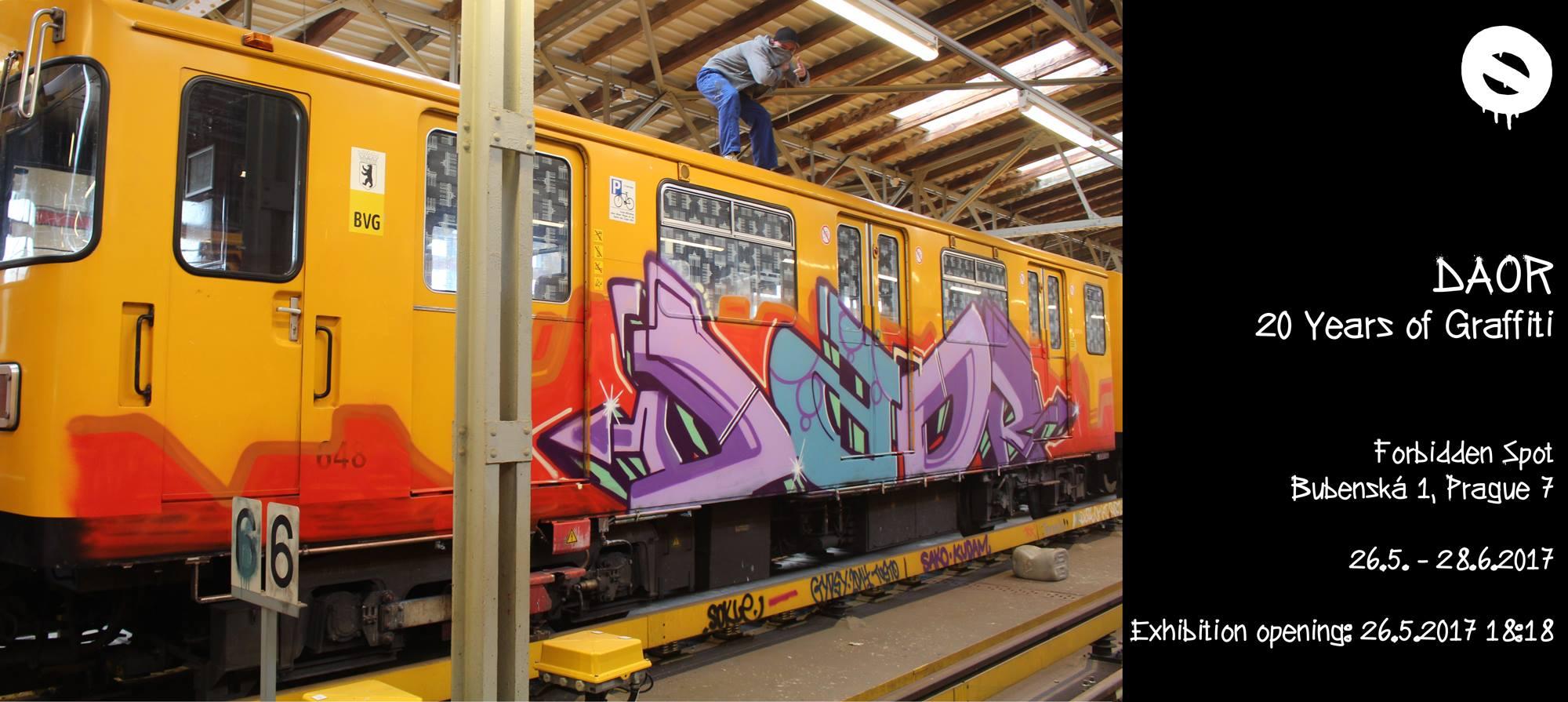 DAOR: 20 Years of Graffiti