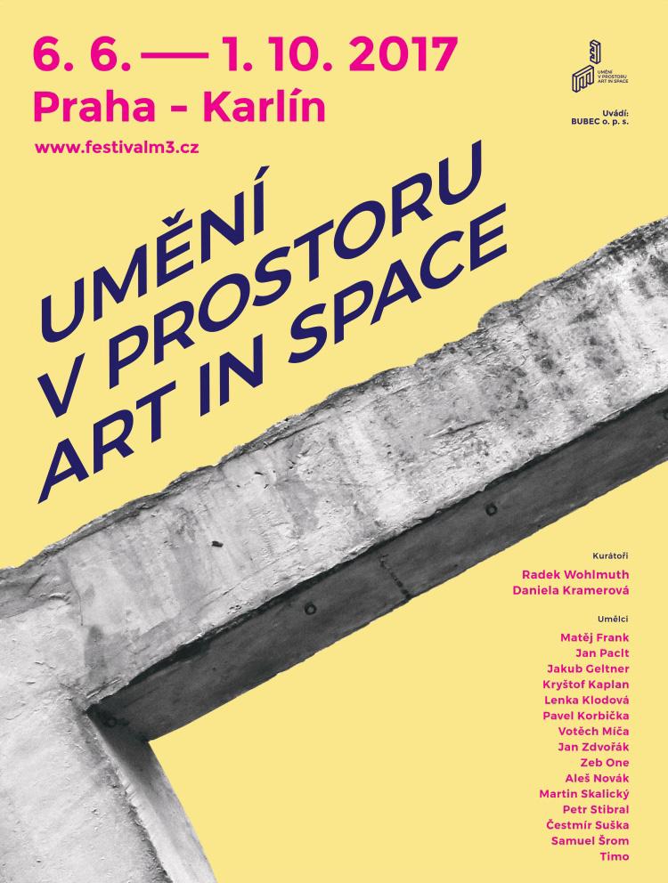 m³ - Umění v prostoru