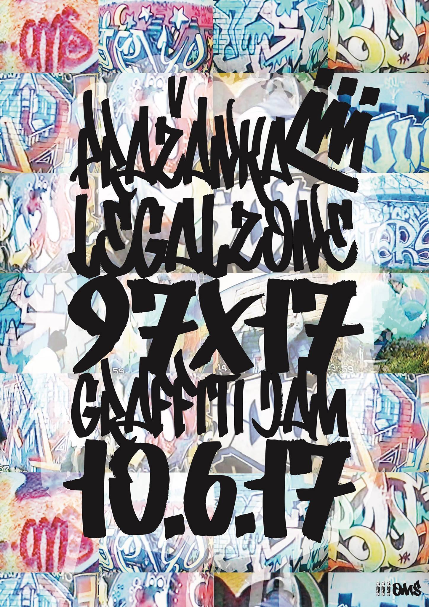 Pražanka 97X17 Graffiti Jam - Kladno