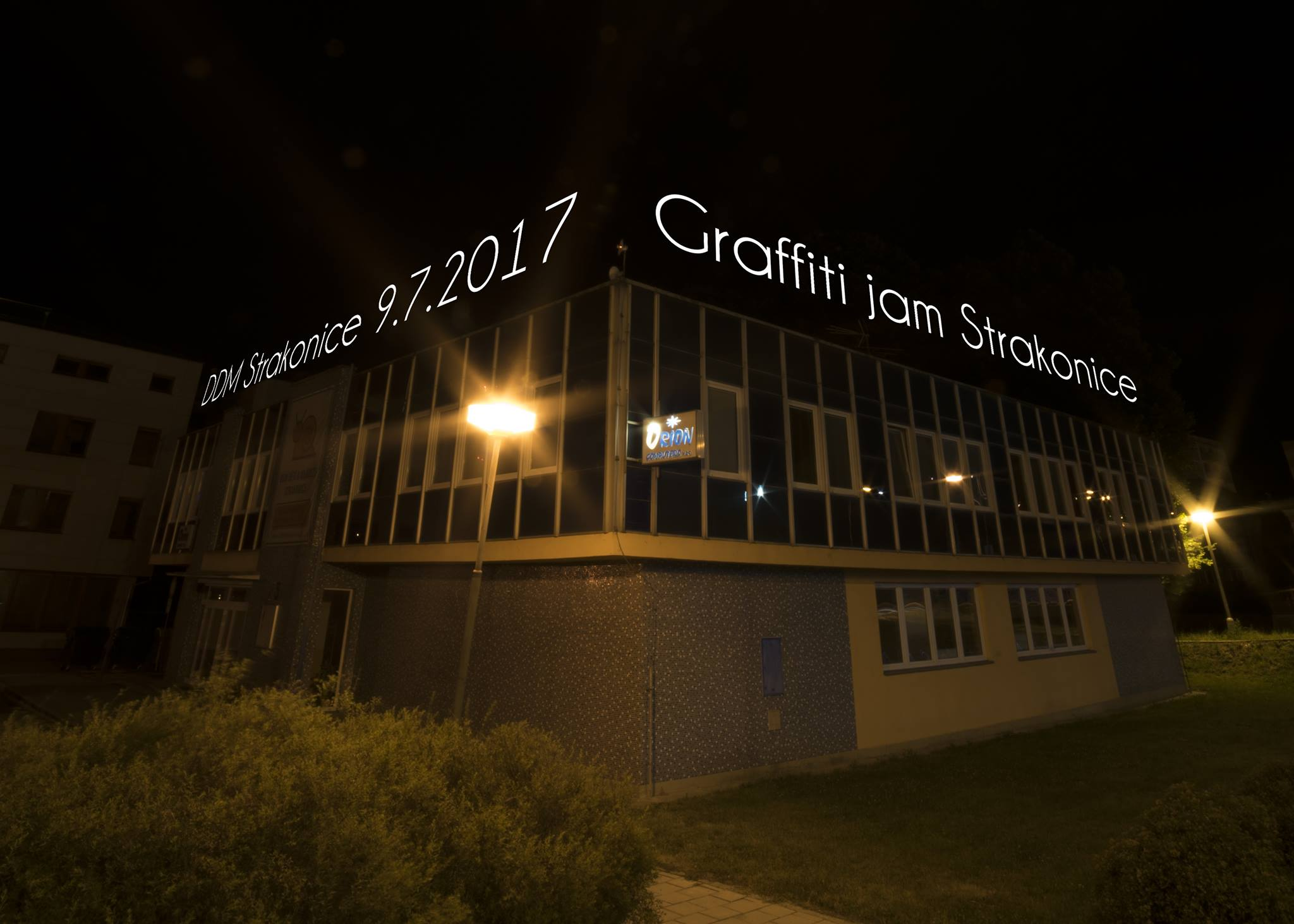 GRAFFITI JAM 2017 - Strakonice