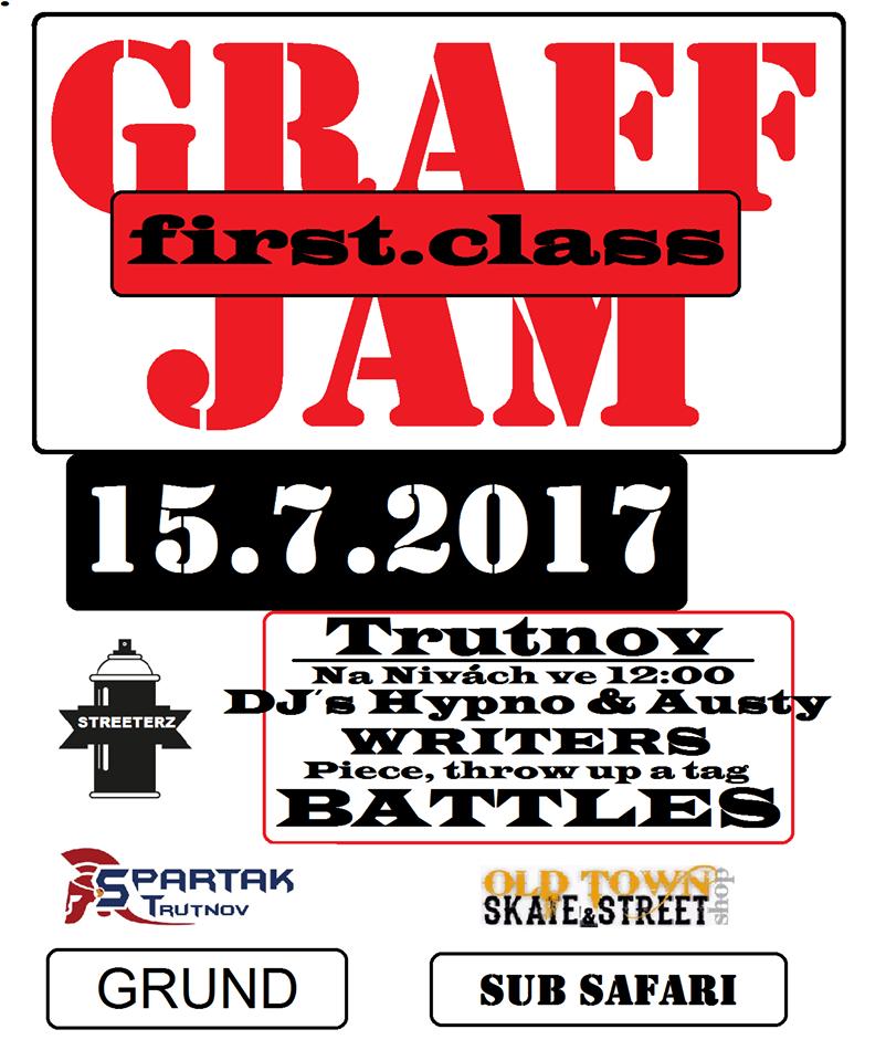 Graffiti Jam 1.Class 2017 - Trutnov
