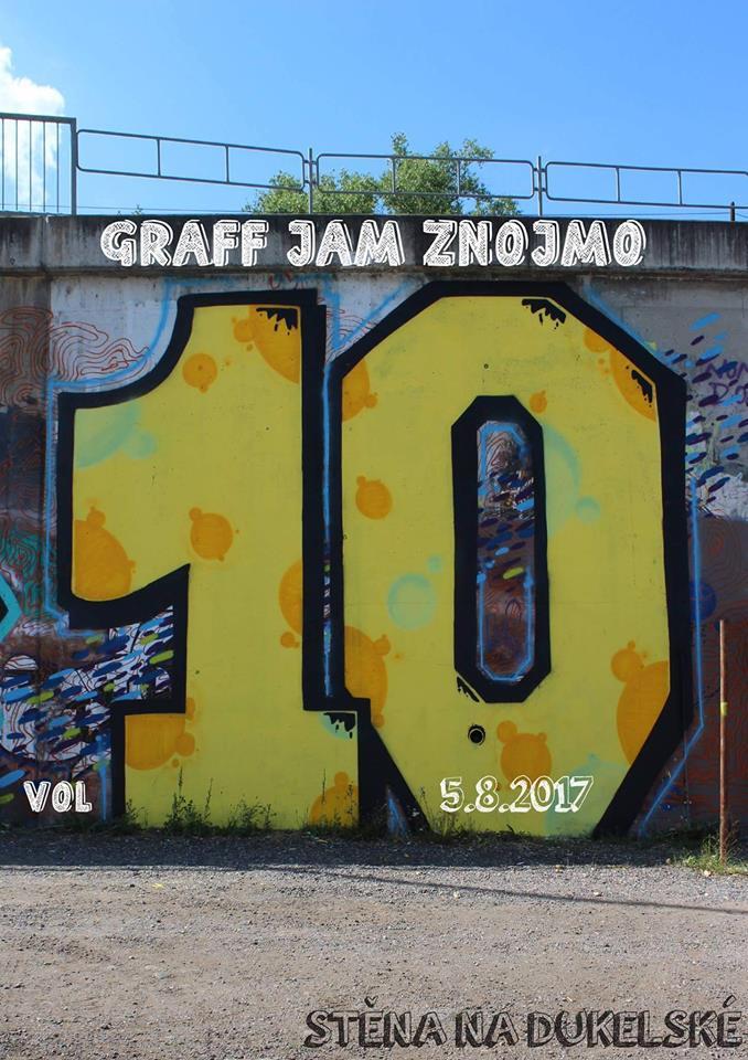 Znojmo Graffiti Jam 2017