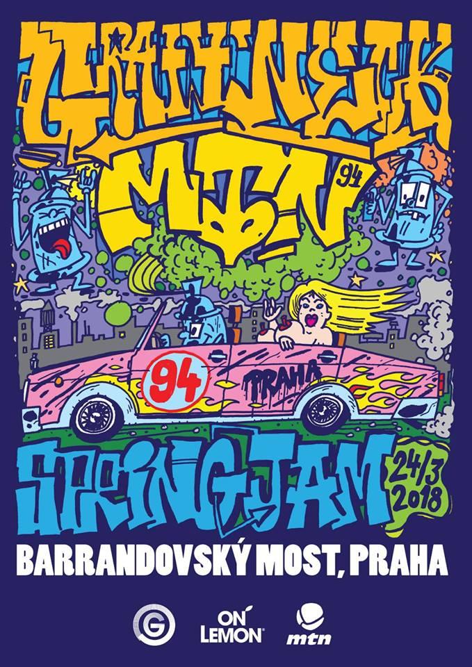 Graffneck Spring Jam 2018 - Barrandov