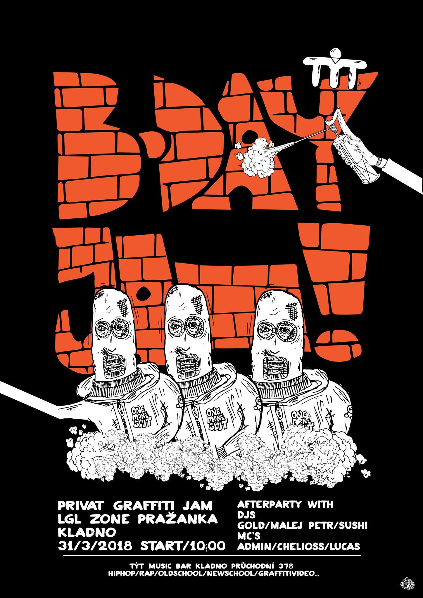 B-Day Graffiti Jam 2018 - Kladno  1e324c5deca