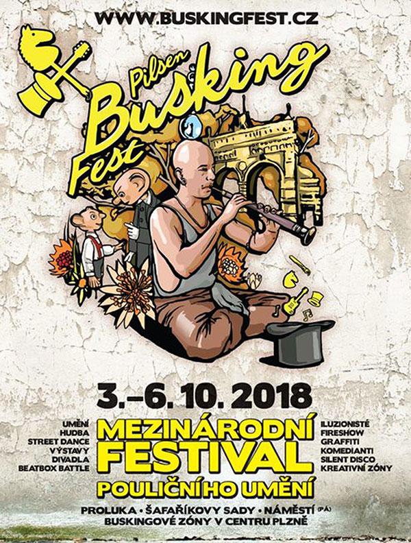 Pilsen Busking Fest 2018
