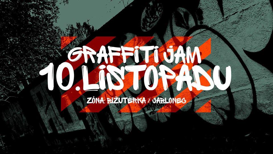 Graffiti Jam - Jablonec nad Nisou (2018)