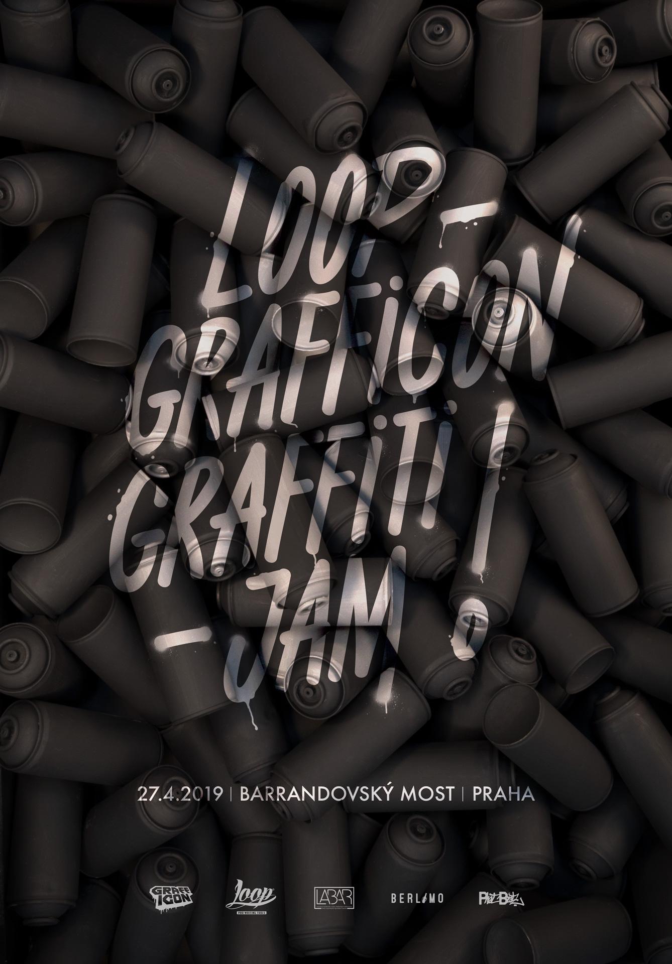 LOOP GRAFFICON GRAFFITI JAM 2019 - Praha
