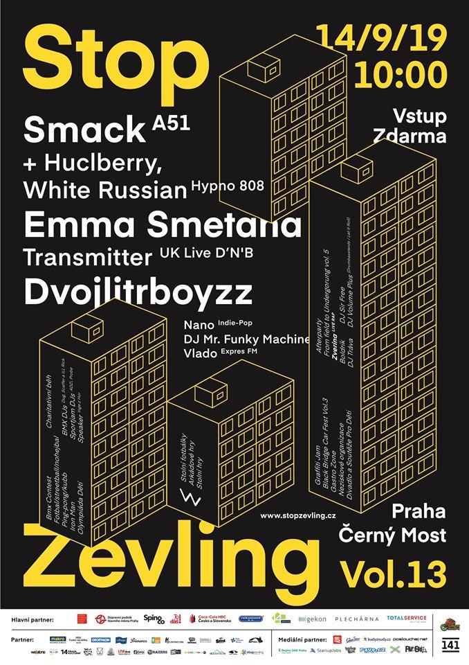 STOP ZEVLING 13.