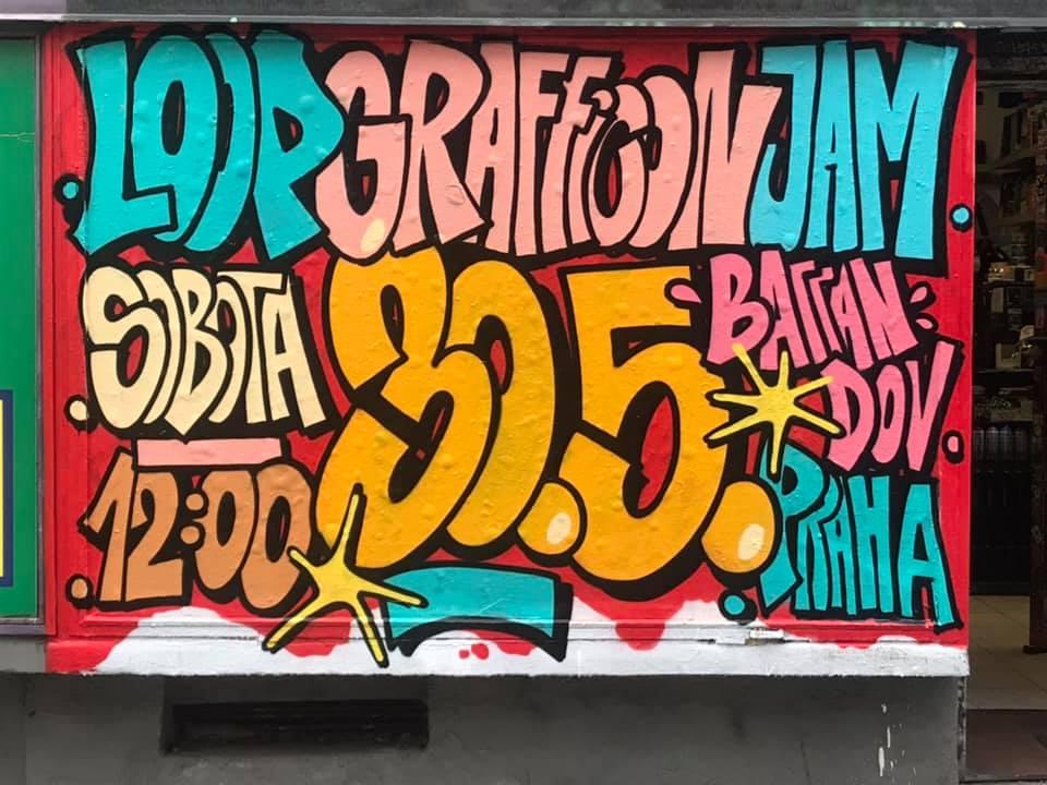 GRAFFICON JAM 2020 - Praha