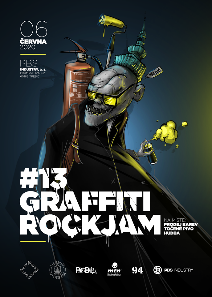GRAFFITI ROCK JAM 2020 - Třebíč