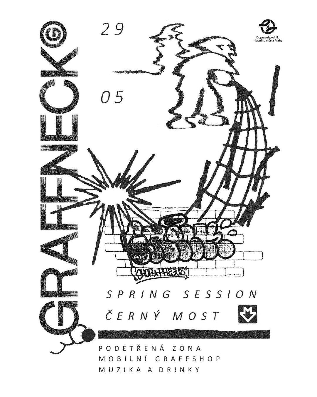GRAFFNECK SPRING JAM - Černý Most (2021)