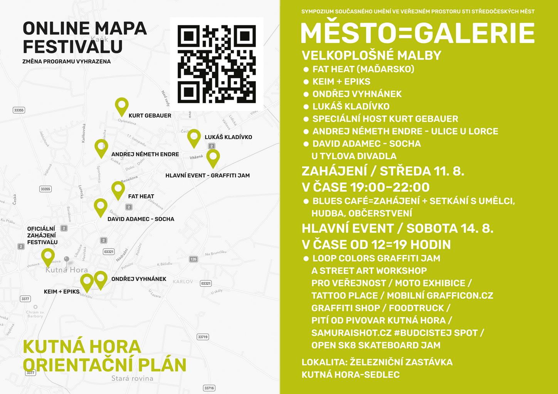 MĚSTO=GALERIE 2021 - Kutná Hora