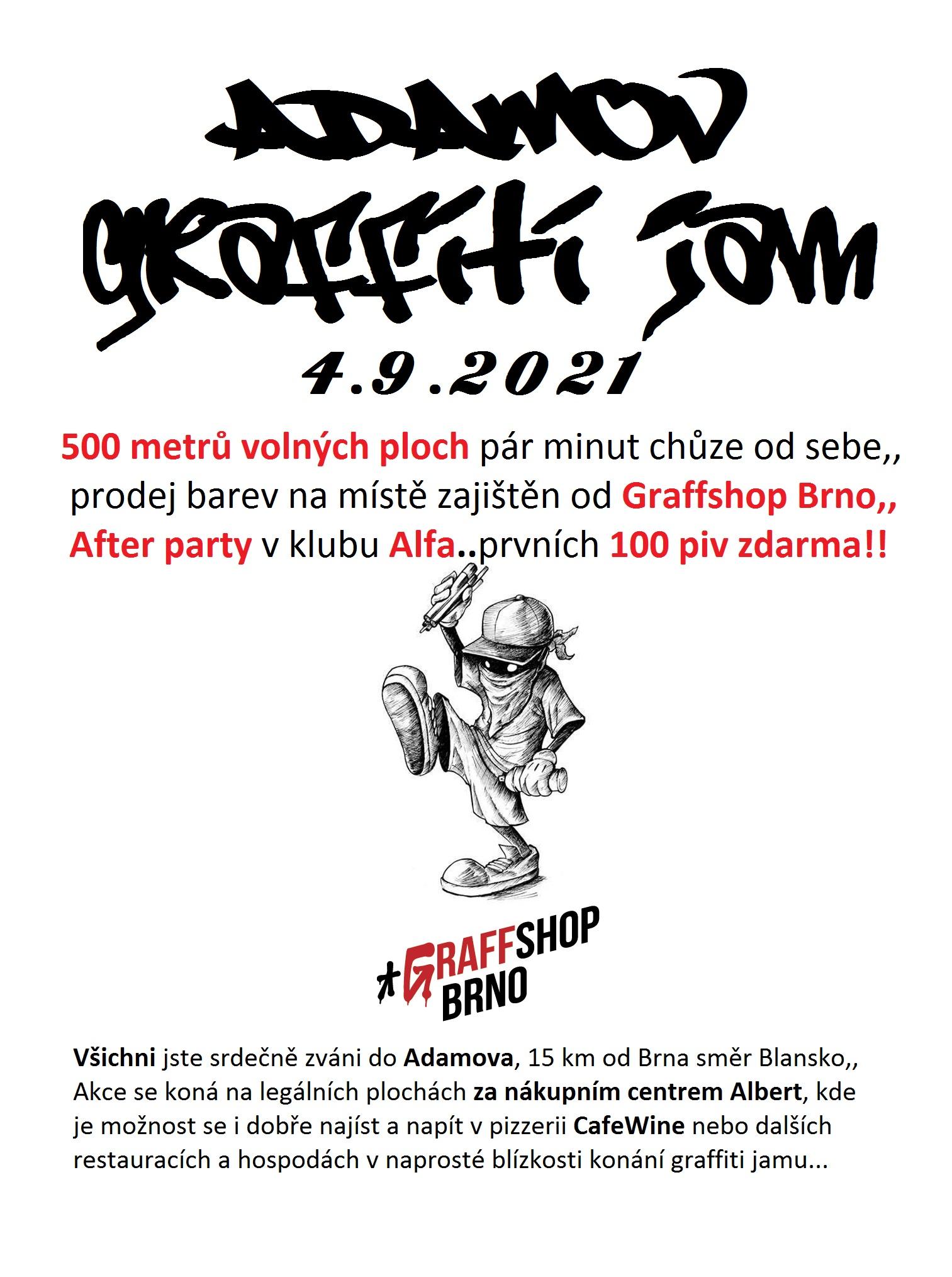 Graffiti Jam - Adamov (2021)