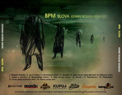 BPM - Slova (KennyRough remixed) - booklet - back