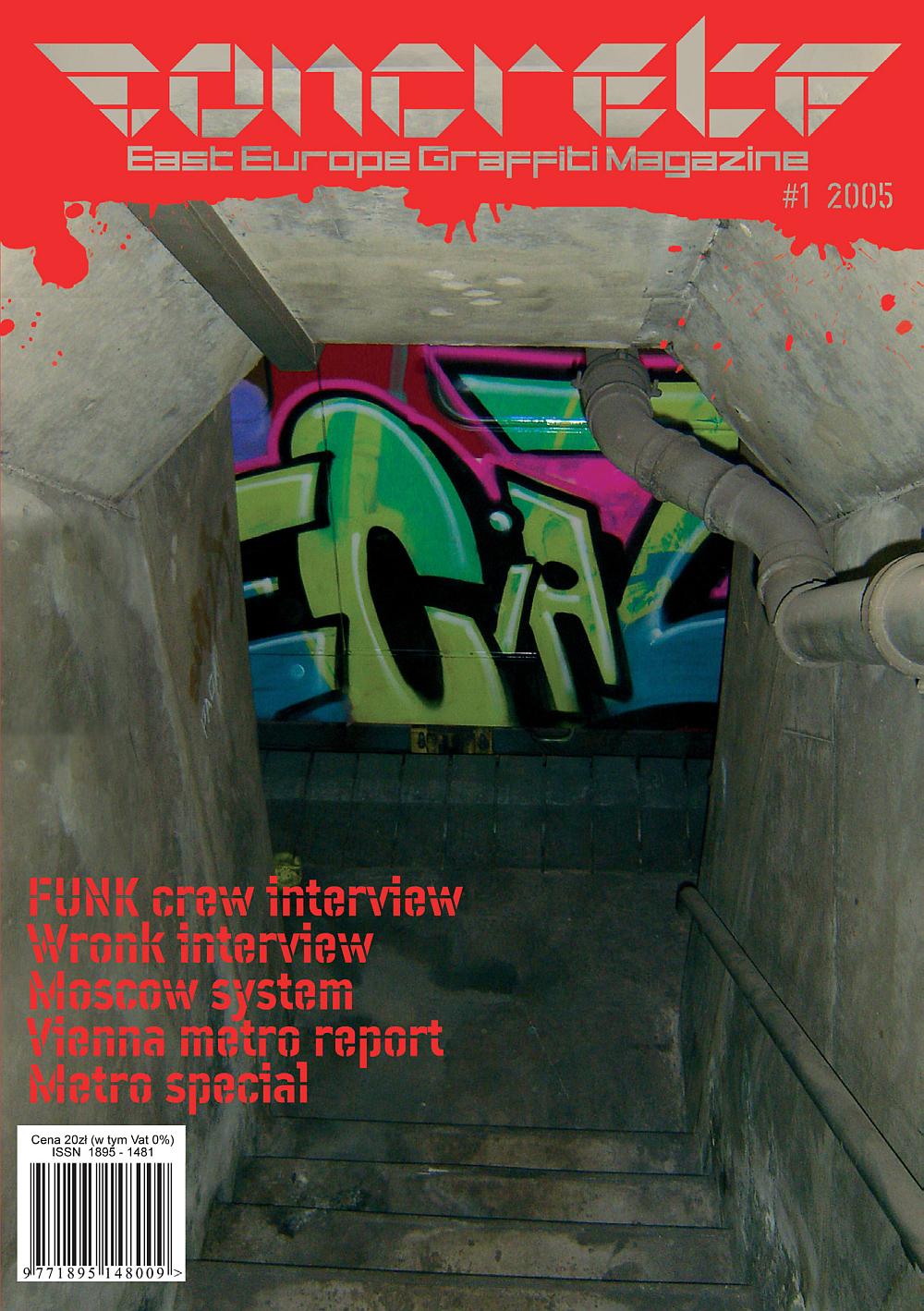 Concrete Graffiti Magazine 1