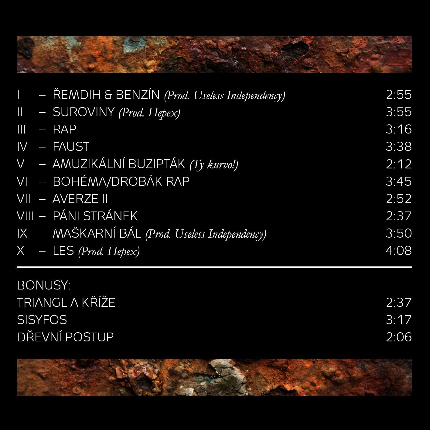 DBKL - Suroviny EP (2015)