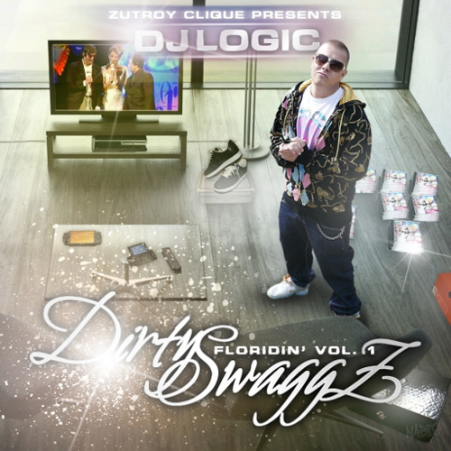 DJ Logic - Dirty Swaggz: Floridin' vol. 1. - booklet - front