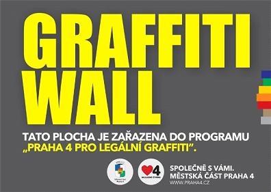 Graffiti Wall - Praha 4