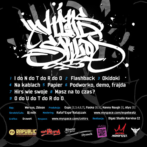 HIRS Skład - Podwórko, Demo, Frajda - booklet - back