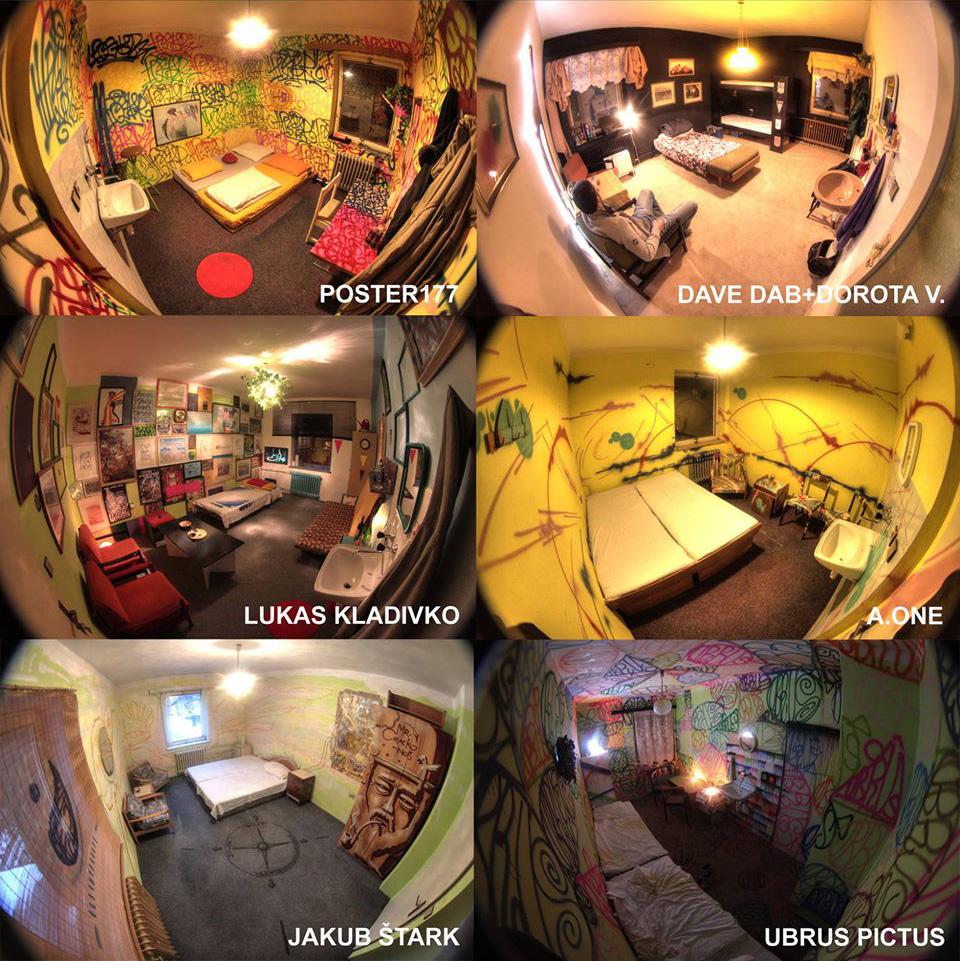 Hostel KlonDike - Projekt Room