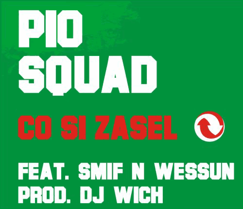 Pio Squad - Co si zasel - singl - booklet - front