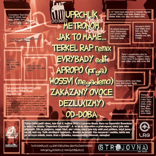 Prago Union - Metronom (2010) - cover - back