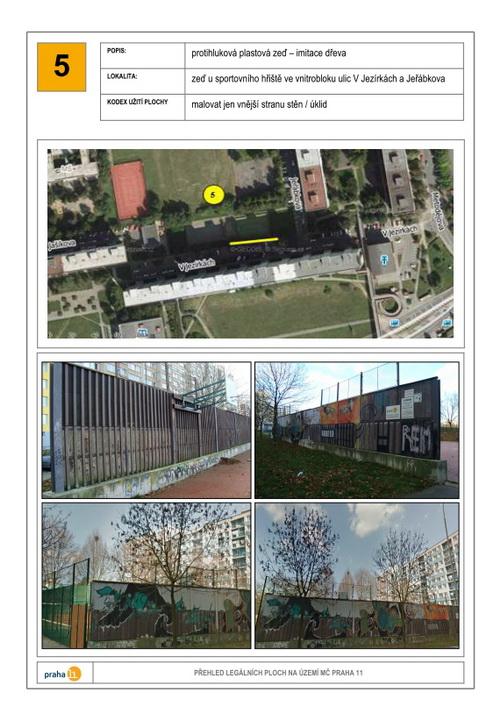 Praha 11 Streetart - legální zóna