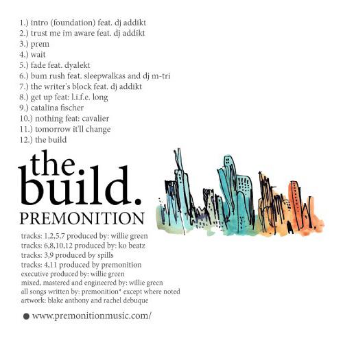 PremRock - The Build (2010) - cover - back