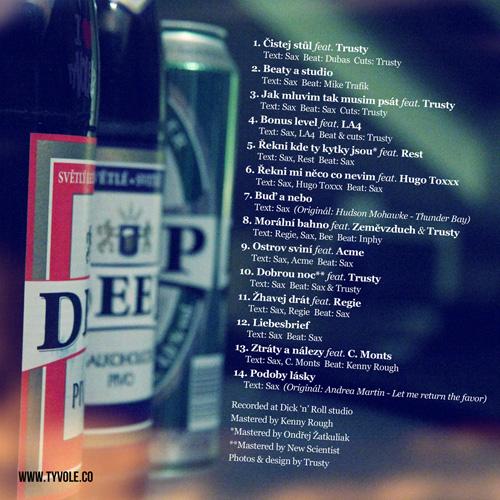 Sax - Johnny Deep (2011) - cover - back