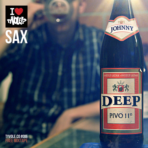 Sax - Johnny Deep (2011) - cover - front