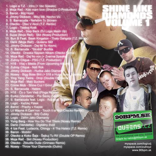 DJ Logic - Shine Like Diamonds - booklet - back