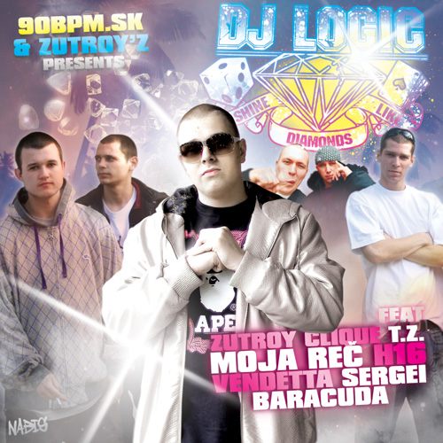 DJ Logic - Shine Like Diamonds - booklet - front