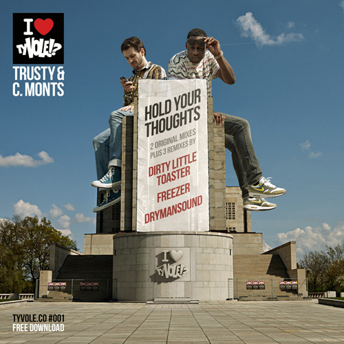 Trusty & C. Monts - Hold your thoughts (2011) - cover - front