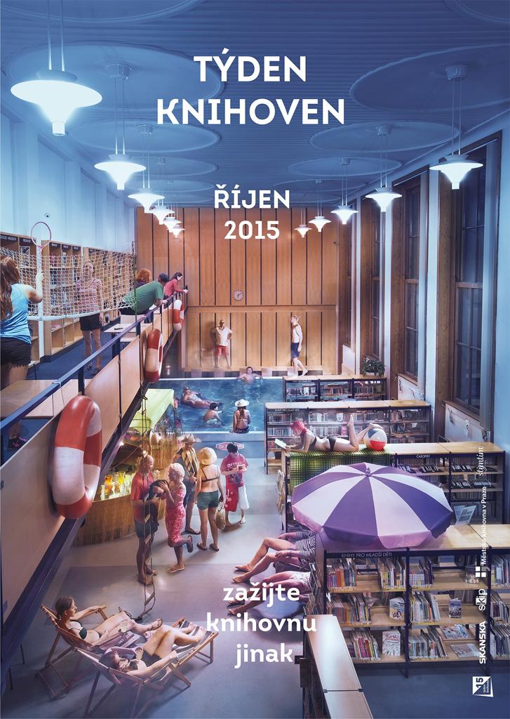 Týden knihoven 2015 - Zažij knihovnu jinak 2015