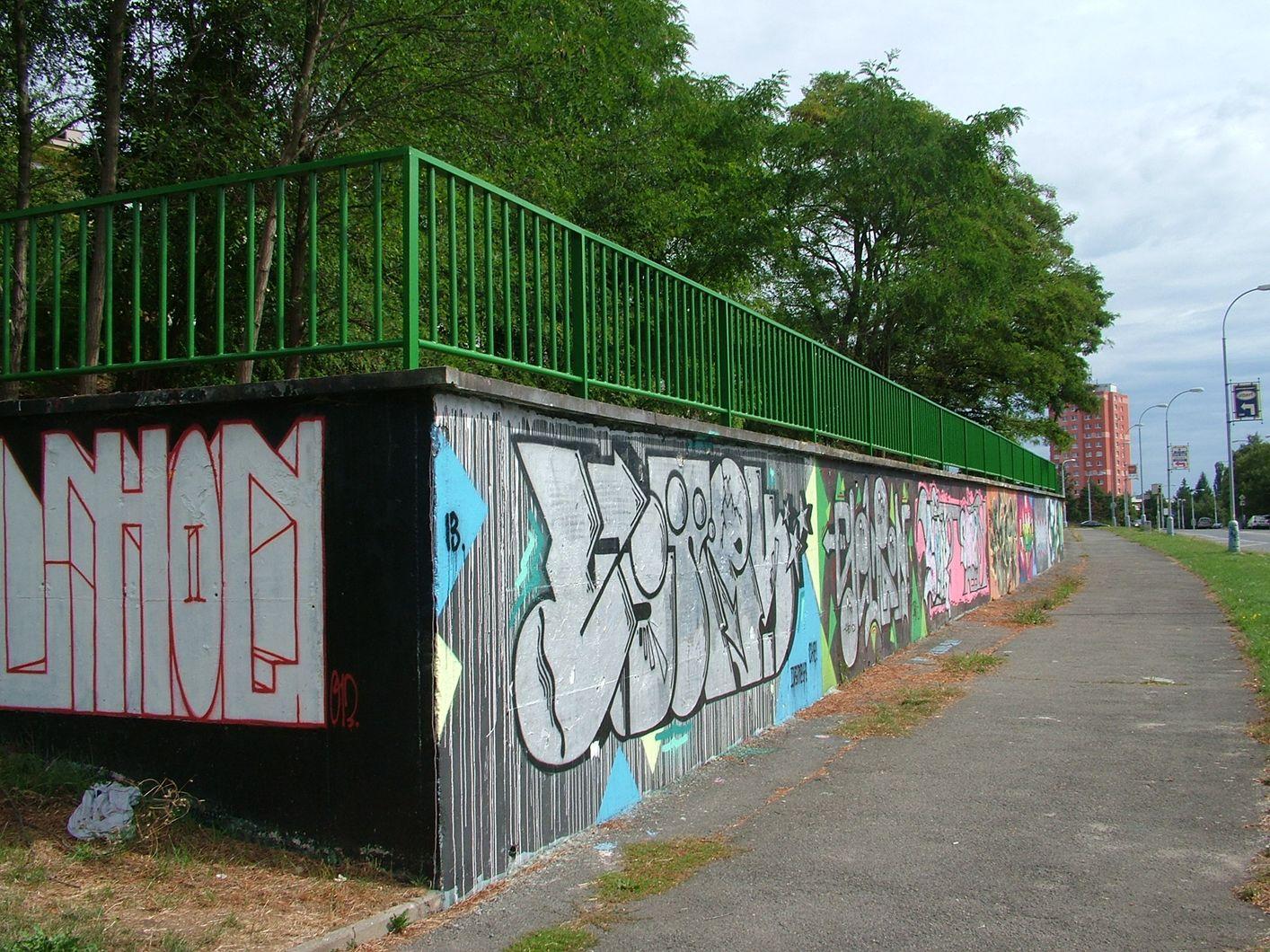 Plzeň má nové legální stěny